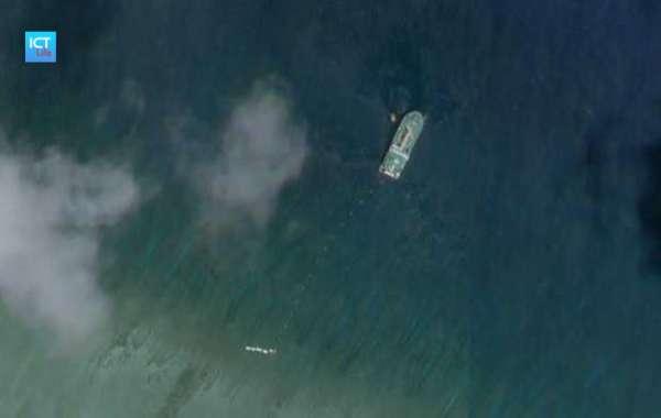 Nghi vấn tàu Trung Quốc thả cáp ngầm ở Hoàng Sa